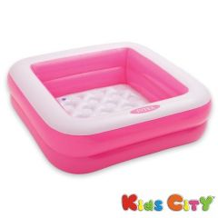 Intex Play Box Pool (Pink) - 57100NP (33.5In X 33.5In X 9In)