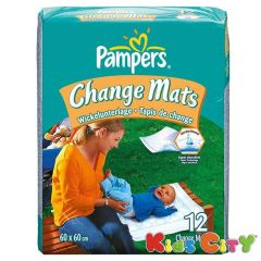 Baby mats - Pampers Change Mats - 12Pc