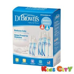 Dr Browns Natural Flow Newborn Feeding Set (Standard)