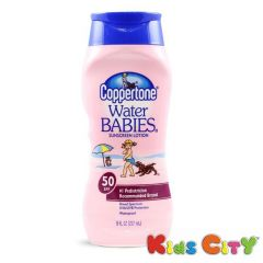 Coppertone Water Babies Sunscreen Lotion SPF50 - 237ml (8oz)