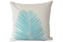 Blueberry Home Cotton fabric Blue color Cushion cover (40X40 cms)