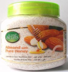 Alpine Secrets Almond with Pure Honey Scrub (500 ml)
