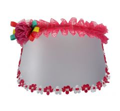 TARA FLOWER CAP HAIR BAND