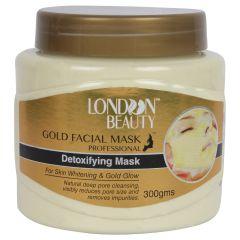 LONDON BEAUTY GOLD FACE MASK