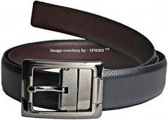 Men's Accessories - Sphinx Italia PU Leather Reversible Belt - 1 piece