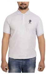 SPHINX Men's Rich Cotton Polo T shirt - GREY