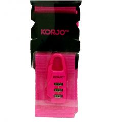 Travel luggage tags - IK 59 FLUORO ID KIT - PK (Product Code - IK59-PK)