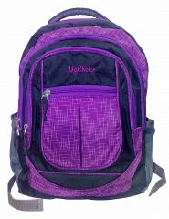 POVO 306101 Purple & Black Backpack