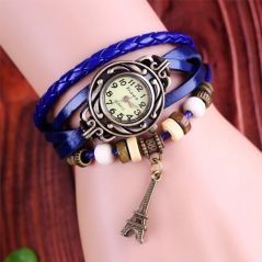 Fripperry Eiffel Tower Charm Vintage Watch_WSTS139
