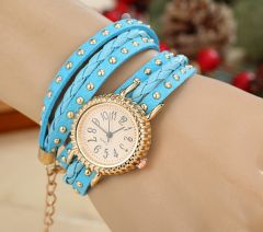 Fripperry Blue Wrap Around Watch_WSTS513