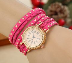 Fripperry Pink Wrap Around Watch_WSTS520