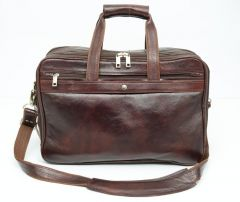 Chanter Genuine Leather Brown Laptop Bag - Ea25