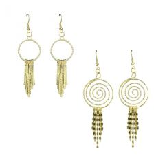 Wise Pebbles Brass Dangle Earring For Women(WPR190)