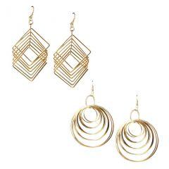 Wise Pebbles Brass Dangle Earring For Women(WPR192)