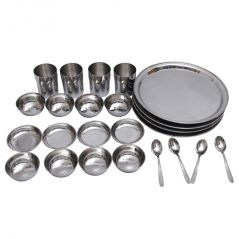 Czar 24 Pcs Stainless Steel Dinner Set