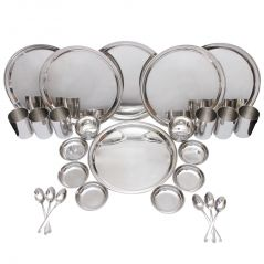 Czar 36 Pcs Stainless Steel Dinner Set