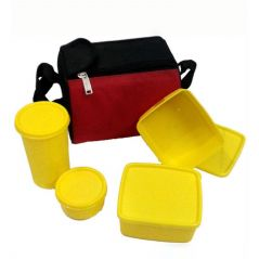 Kitchen storage & containers - Czar Topware Lunch Box-SET OF 4