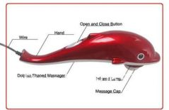 Deemark Red Dolphin Massager pain relief Massager