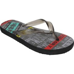 Czar Men's Slippers(Code- ZP-14 Men Multi Words Slipper)