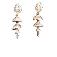Shilpi Creation Golden Non-Precious Metal Jhumki Earring For Women 152253168709