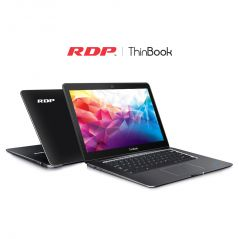 "RDP ThinBook (Intel 1.84 GHz Quad Core / 2GB RAM / 32GB Storage) 14.1"" HD Screen Laptop - Without Windows OS"