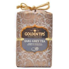 Golden Tips Earl Grey Black Tea - Brocade Bag, 250g - By Location