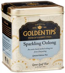 Golden Tips Sparkling Oolong Tea - Tin Can, 50g - By Location