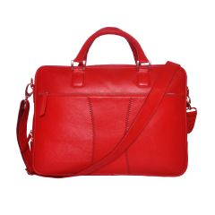 Tamanna 15 inch Laptop Messenger Bag  (Red)