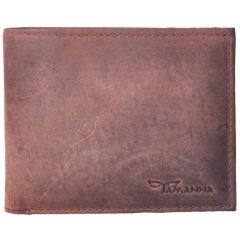 Tamanna Men Brown Genuine Leather Wallet LWM00003