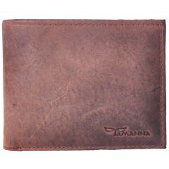 Tamanna Men Brown Genuine Leather Wallet LWM00003