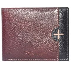 Tamanna Men Brown, Black Genuine Leather Wallet  (7 Card Slots)