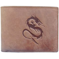 Tamanna Men Tan Genuine Leather Wallet LWM00078