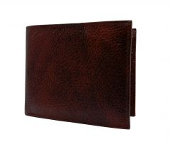 Cherry Brown Textured Premium Mens Genuine Leather Wallet By GetSetStyle GBGLW-CHBR-7054