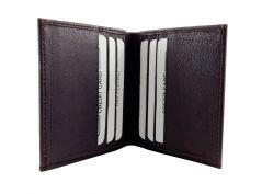 Mocha Brown 100 % Genuine Leather Card Holder By GetSetStyle GLCH-BR-7039