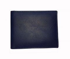 Persian Blue Textured Mens Premium PU Leather Wallet By GetSetStyle  GSSREPU-BLU-7077