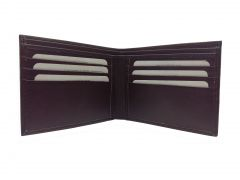 Simple Trendy Brown Bi-Fold Premium Quality PU Leather Wallet By GetSetStyle PPU-BR-7049