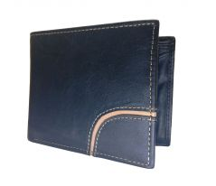 Tremendous Curve Black Premium Mens Class Genuine Leather Wallet By GetSetStyle PRLW-BK-7047