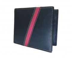 Magical Black Premium Mens Class Genuine Leather Wallet By GetSetStyle PRLW-BKR-7046