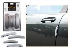 Safety guards - AutoRight-ipop  Car Door Guard Set Of 4 PCs Silver For Renault Duster