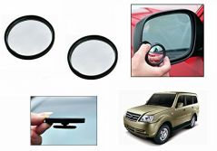 Mirrors for cars - AutoRight 3r Round Flexible Car Blind Spot Rear Side Mirror Set of 2-Tata Sumo Grande