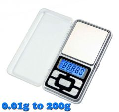 Home Accessories - Gadget Hero's Digital Pocket Weighing Scale 0.01g To 200g.