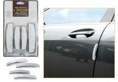 Safety guards - AutoRight-ipop  Car Door Guard Set Of 4 PCs White For Toyota Fortuner