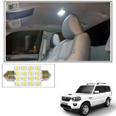 AutoRight 16 SMD LED Roof Light White Dome Light for Mahindra Scorpio New
