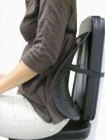 Car utilities - Car Seat Massage Chair Back Lumbar Support Mesh Ventilate Cushion Pad