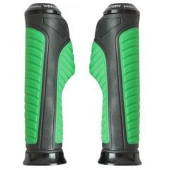 Bike Styling Products - AutoRight Bike Handle EDGE Grip Black And Green For Vespa SXL 150