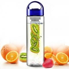 Fruit Fuzer Infusing Infuser Water Bottle Sports Detox Health Juice Maker Bottle-bpa Free