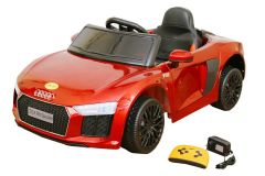 WHEEL POWER BABY BATTERY OPERATED RIDE ON AUDI CAR RED
