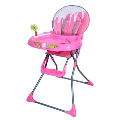 Baby furniture - HARRY & HONEY BABY HIGH CHAIR 289 A PINK