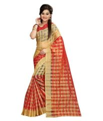 Cotton Sarees - women's Cotton saree with blouse(mh001)