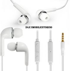 Original Samsung Handsfree Earphone With 3.5mm Jack Whiteline
